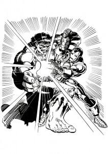 målarbok Iron man (27)