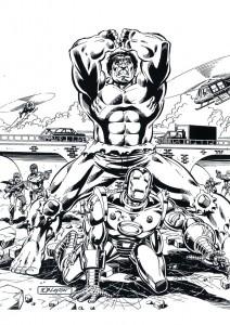målarbok Iron man (31)