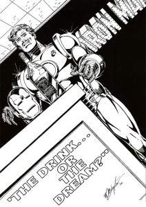 coloring page Iron man (33)