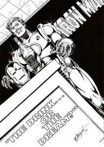 målarbok Iron man (33)