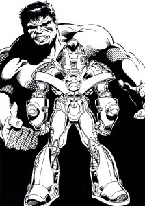 coloring page Iron man (36)