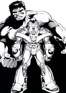målarbok Iron man (36)