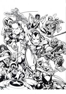 målarbok Iron man (37)