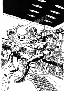 coloring page Iron man (39)