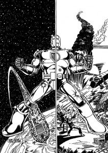 coloring page Iron man (42)