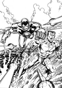 coloring page Iron man (44)