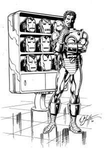 coloring page Iron man (45)
