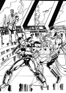 coloring page Iron man (47)