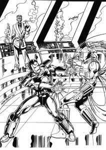 målarbok Iron man (47)