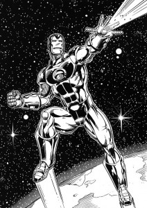 coloring page Iron man (51)