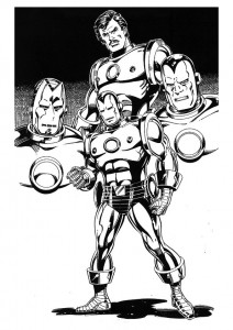 coloring page Iron man (52)