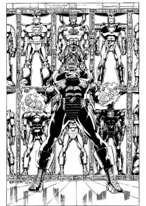 coloring page Iron man (53)