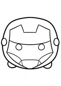 coloring page iron man (61)