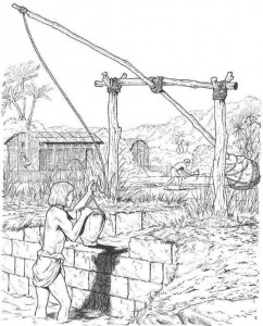 coloring page Irrigation