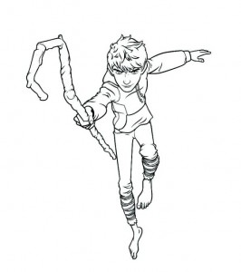 coloring page Jack Frost