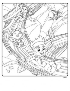coloring page Jake and the never-thought priests (4)