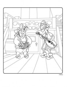 coloring page Jake and the never-thought priests (8)