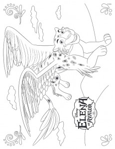 Jaquin coloring page