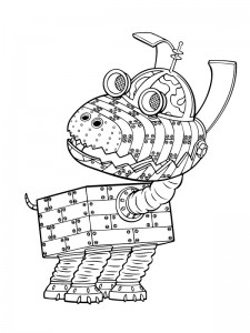 coloring page Jimmy Neutron (12)