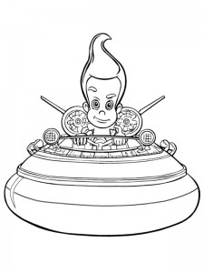 coloring page Jimmy Neutron (14)