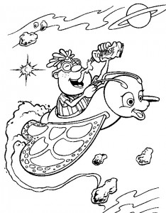 coloring page Jimmy Neutron (19)