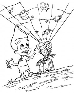 coloring page Jimmy Neutron (20)