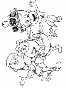coloring page Jimmy Neutron (21)