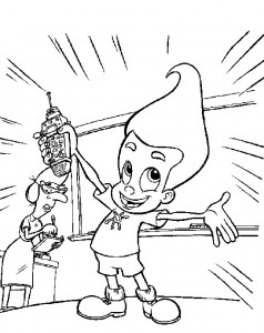 coloring page Jimmy Neutron (31)