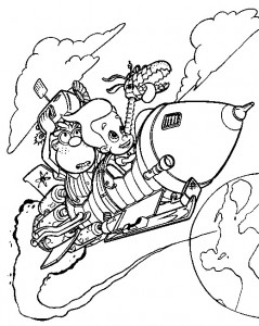 coloring page Jimmy Neutron (32)