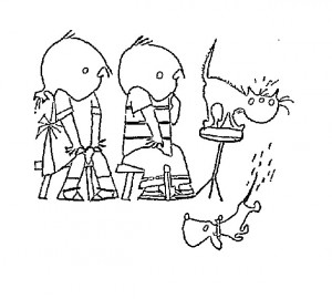 coloring page Jip and Janneke (1)