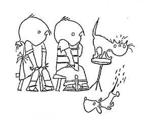 målarbok Jip och Janneke (1)