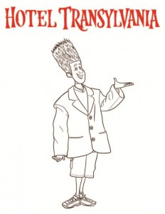 coloring page Johnnystein