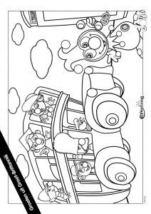 coloring page Jokie GROOT BRITANNIE