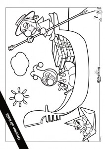 coloring page Jokie ITALY
