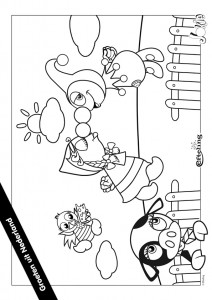coloring page Jokie NETHERLANDS