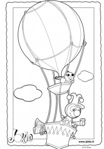 coloring page Jokie