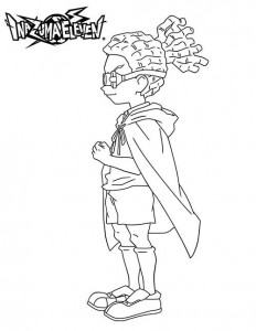 coloring page Jude Sharp