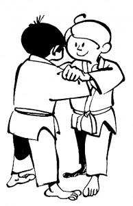 kleurplaat Judo (11)