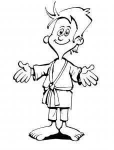 målarbok Judo (12)