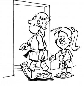 boyama kitabı Judo (16)
