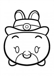 Judy Hops coloring page