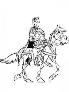 kleurplaat Julius Ceasar