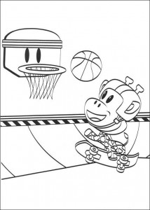 coloring page Julius Jr. (1)
