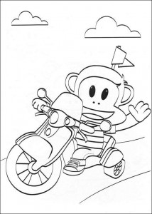 coloring page Julius Jr. (11)