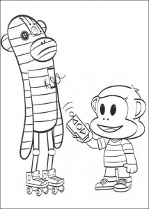 coloring page Julius Jr. (14)