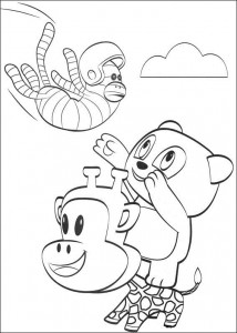 coloring page Julius Jr. (2)