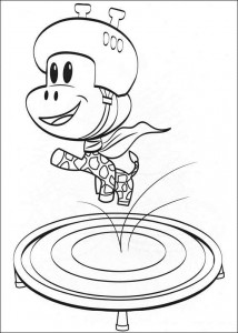 coloring page Julius Jr. (23)