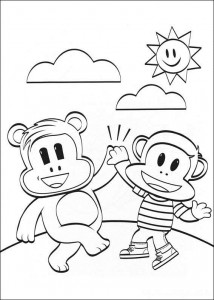 coloring page Julius Jr. (4)