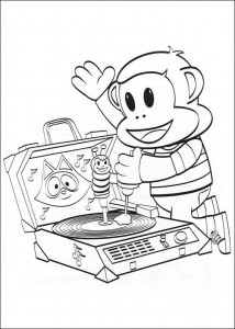 coloring page Julius Jr. (8)