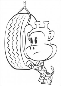 coloring page Julius Jr